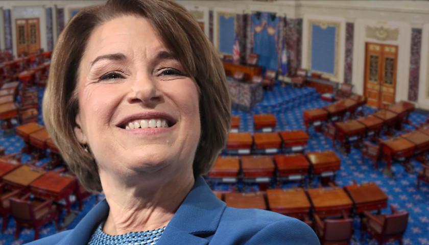 Minnesota Sen. Klobuchar Cosponsors Bill to Stop Spread of 'Misinformation' on Social Media