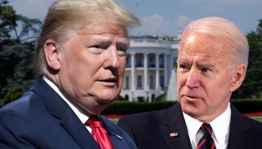 New Poll: In Head-to-Head 2024 Match up, Trump Beats Biden