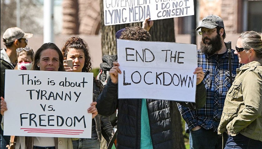 College Textbook Blames COVID Deaths on Americans Who Oppose Lockdowns