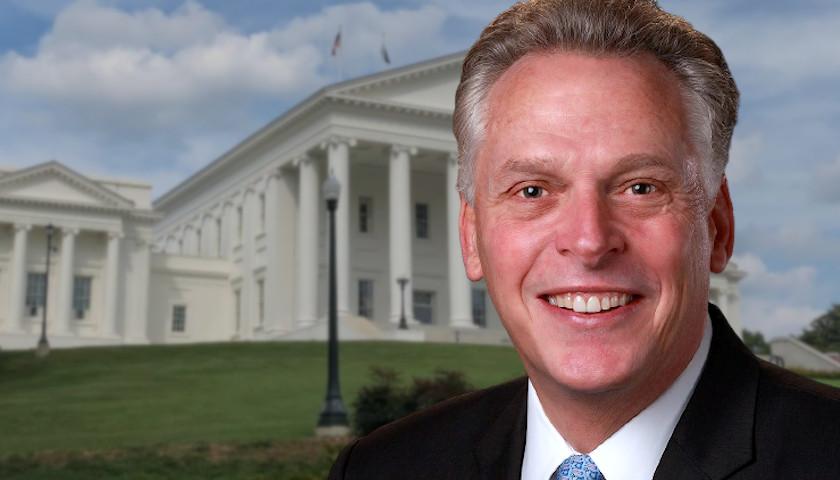Virginia GOP Launches Ad Bashing McAuliffe for Clinton Ties