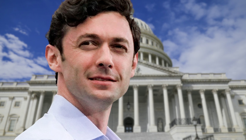 Jon Ossoff Wants to Challenge Georgia's Voter Integrity Law with Federal Legislation