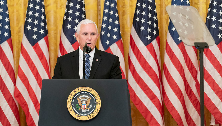 Commentary: Mike Pence Twists into a Painful, Pointless Pretzel