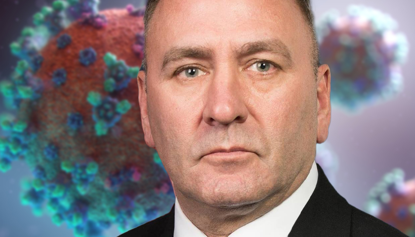 Congressman Clay Higgins Gets COVID for a Second Time