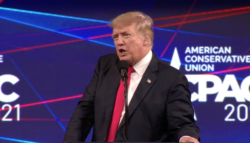 YouTube Deletes Video on Trump's Big Tech Lawsuit, Blocks His CPAC Speech from the Platform