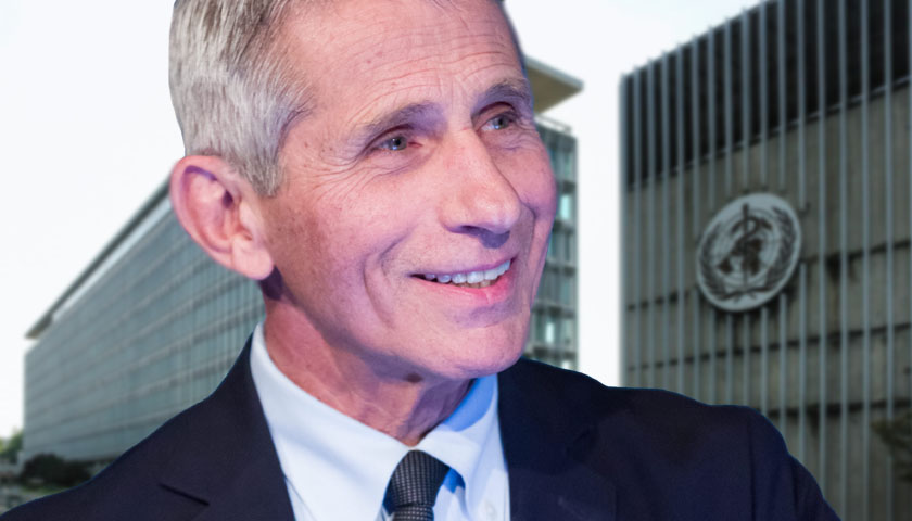 Fauci Emails with World Health Organization Officials Heavily Redacted in Records Release