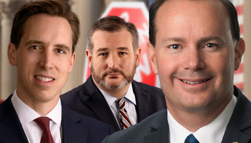Hawley, Cruz, Lee Call for Supreme Court to Overturn Roe v. Wade