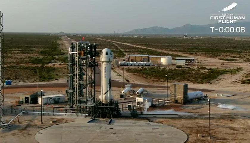 Jeff Bezos Reaches Space in Successful Blue Origin Launch