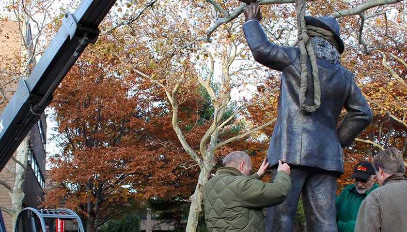 Walt Whitman Statue, a Target of Protests, to Be Removed From Center of Rutgers–Camden Campus