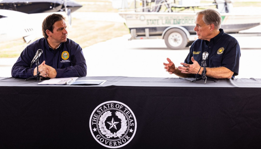 Governor Ron DeSantis Joins Texas Governor Greg Abbott for Border Crisis Briefing