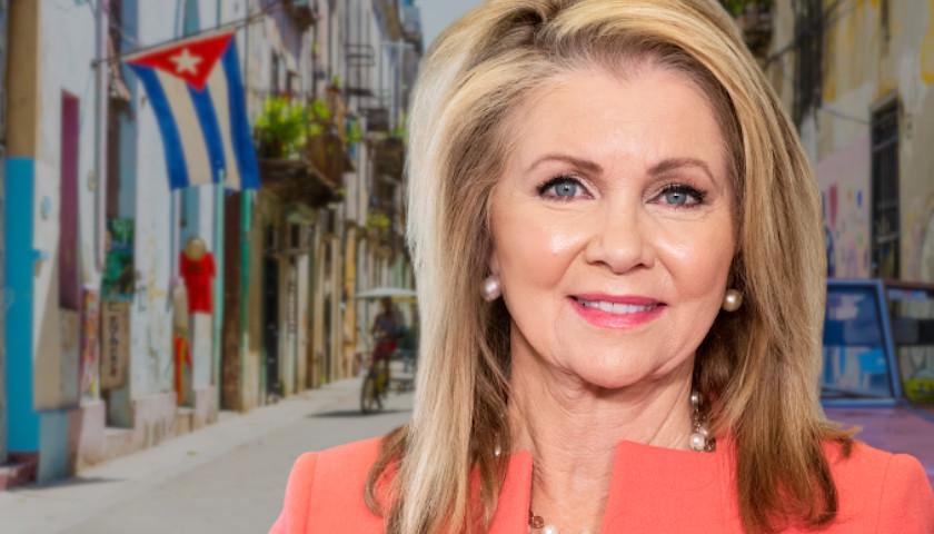 Senator Marsha Blackburn Calls on Biden to Support Protesters in Cuba