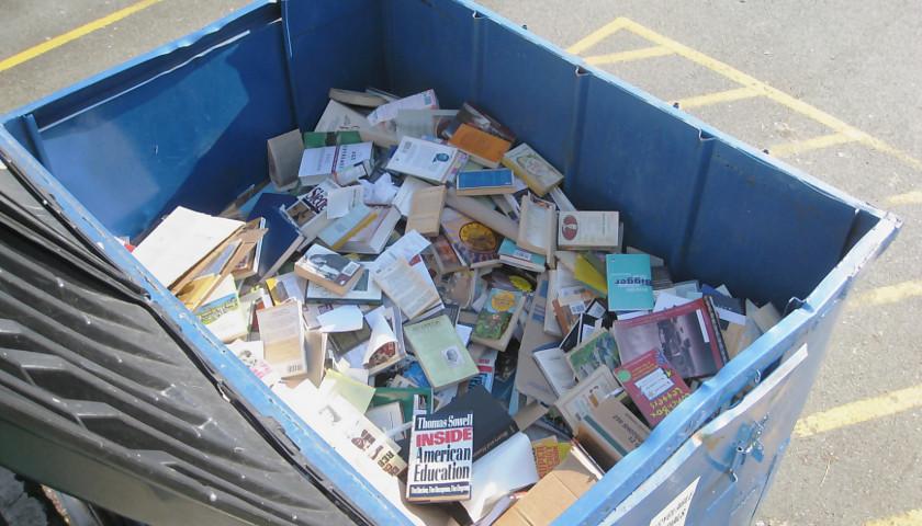 Dumpster Full of Books Found Outside Minneapolis Elementary School