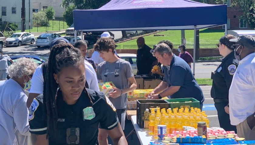 D.C. Police to Hold Street-Corner Food Pantry on July 28