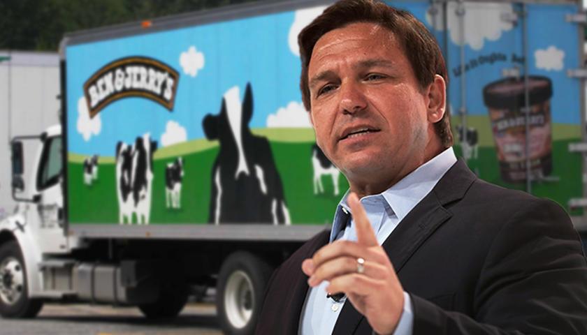 Florida Gov. DeSantis Places Ben & Jerry's on Boycott List