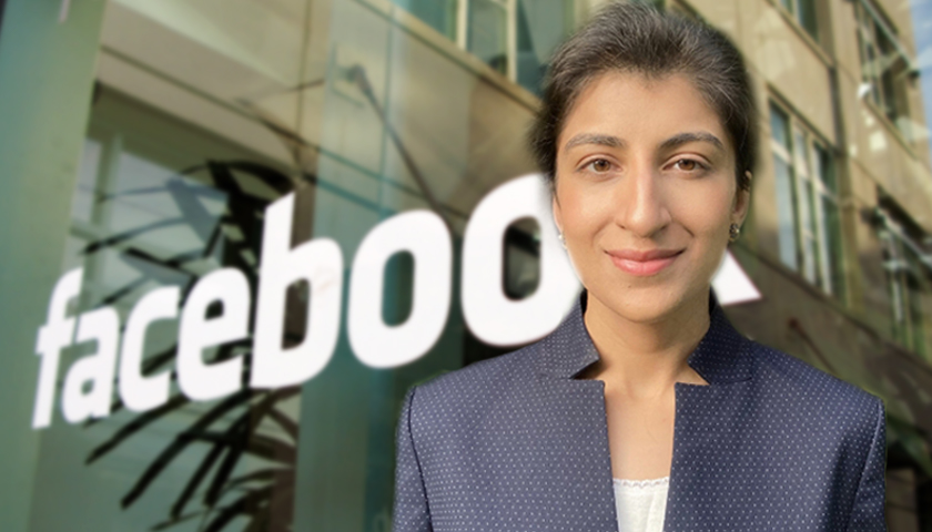 Facebook Files Petition Demanding FTC Chair Lina Khan Recuse Herself From Antitrust Case