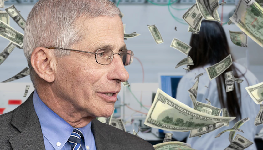 Fauci's Agency Dumped Millions into Chinese Entities to Study Infectious Diseases Since 2012, Federal Data Shows