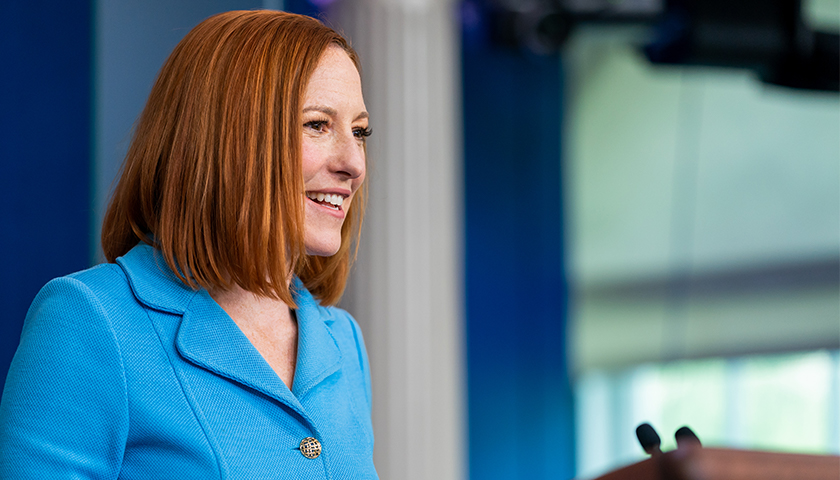 Psaki Doubles Down on White House's Support for Tech Censorship