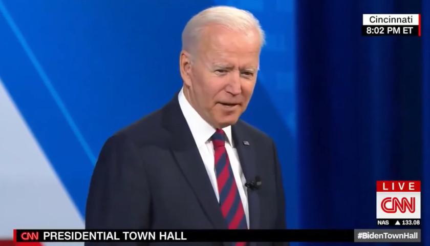 Biden's Ohio Town Hall Draws Small Crowd, Major Criticism