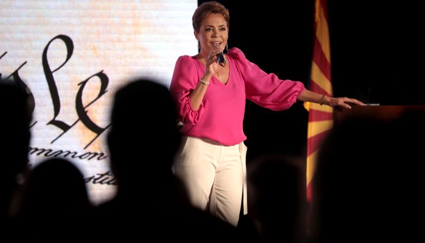 Gubernatorial Hopeful Kari Lake Rallies to a Raucous Standing-Room-Only Crowd in Scottsdale