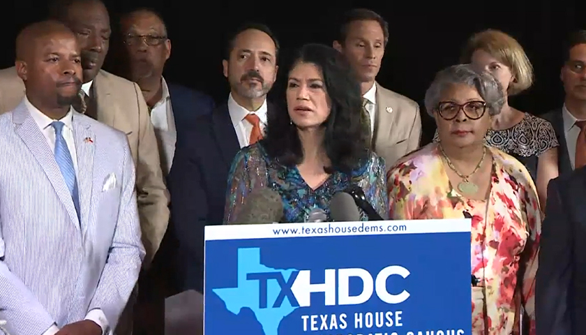 COVID-Positive Texas Democrats Accorded Medical Privacy Denied to Republicans