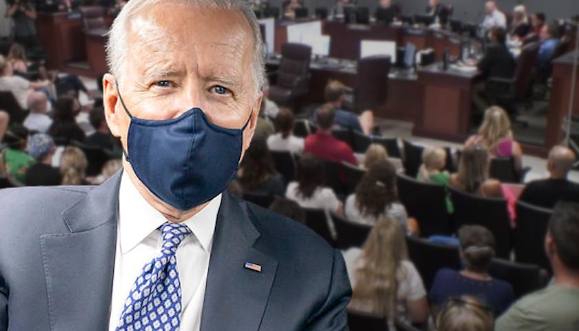 Biden Demonizes Williamson County, Tennessee Parents Protesting Mask Mandates for Elementary School Children