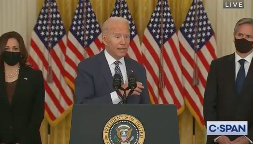 Biden Helped Evacuate the French Embassy While Leaving American Citizens to the Mercy of the Taliban