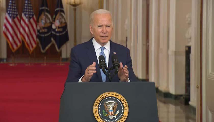 Biden Defends Withdrawal, Declares End of War in Afghanistan