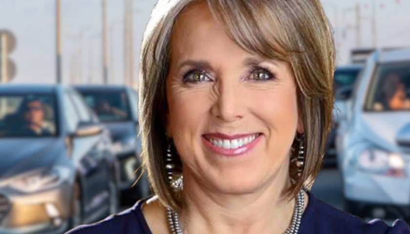 New Mexico Governor's Car Gets Less Than 13 Miles Per Gallon, Even as She Mandates 52 Miles Per Gallon for All State Vehicles