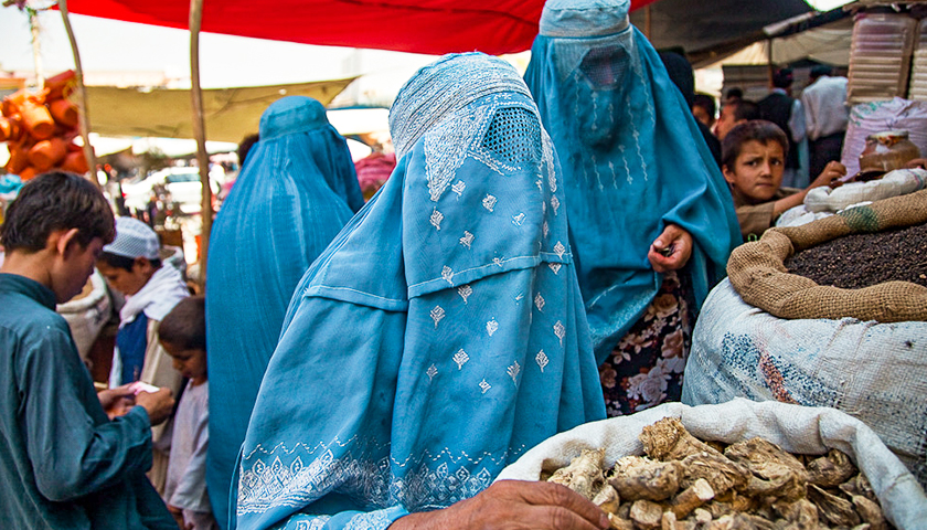 Commentary: Biden Celebrates Women's Equality Day While Afghan Women Run for Their Lives