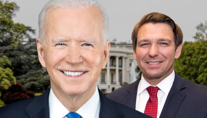 Biden, DeSantis Exchange Jabs over Handling of COVID