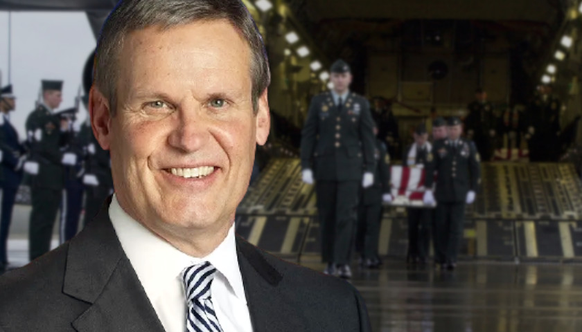 Governor Bill Lee 'Heartbroken' on Death of East Tennessee Soldier Killed in Afghanistan Terrorist Attack