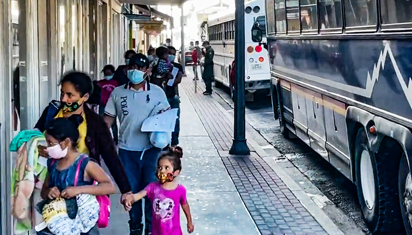 Biden Administration Has Released over 7,000 COVID-Positive Migrants into Texas Since February