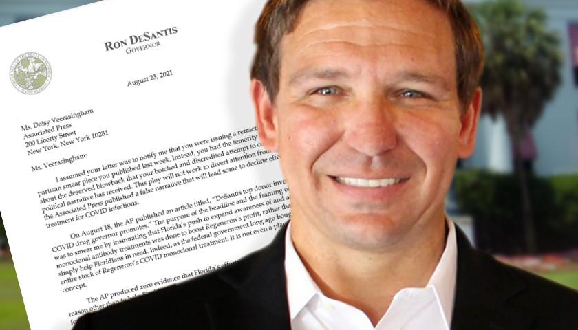 Florida Gov. DeSantis Responds to the Associated Press Over 'Smear' Tactic