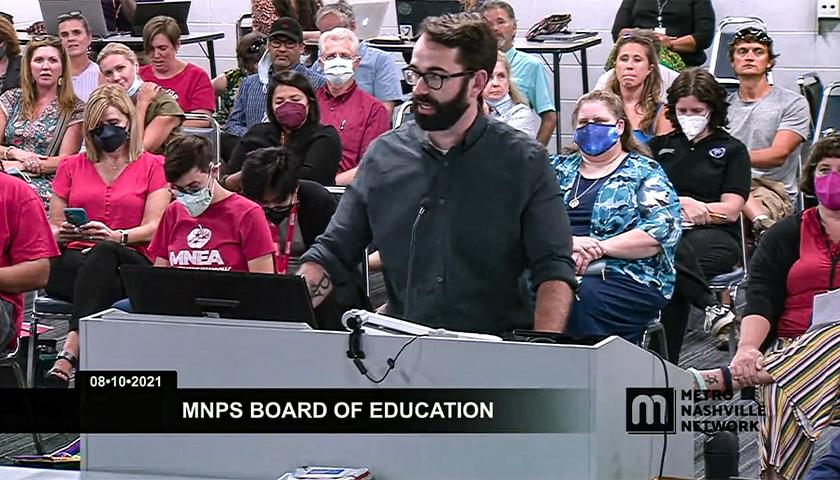The Daily Wire's Matt Walsh Told Metro Nashville School Board 'No Mask Mandates' Last Week