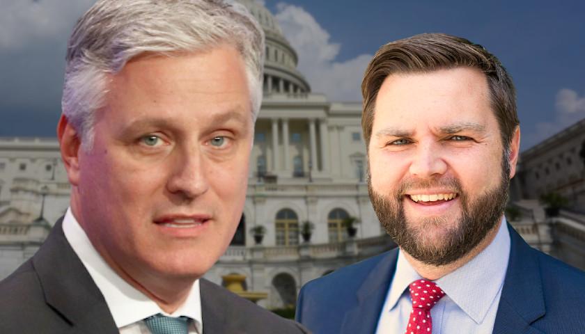Former Trump National Security Adviser Robert O'Brien Endorses J.D. Vance in Ohio GOP Senate Primary