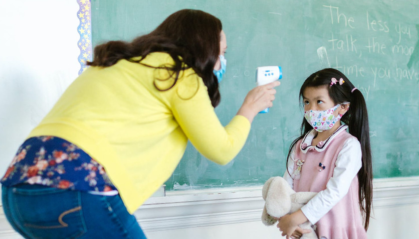 American Academy of Pediatrics Claims Masks Have No Negative Effects on Children
