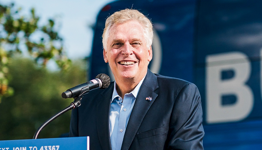 Former Virginia Democratic Chairman Says McAuliffe's Missed Signature Gave Him Unfair Primary Advantage