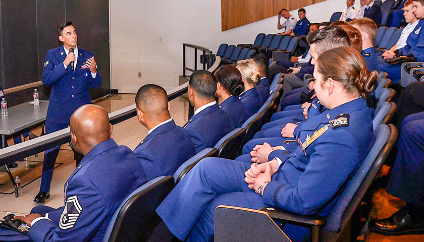 Air Force Academy Forces Students to Watch Pro-BLM Video