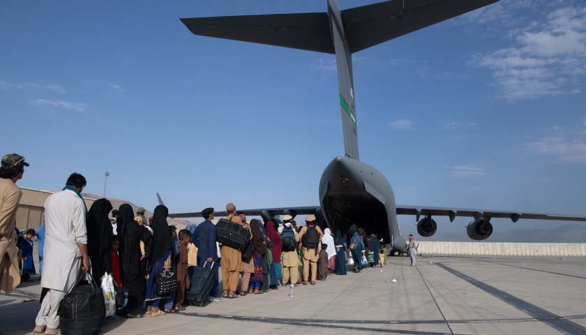 State Dept. Won't 'Provide an Approval' for Private Evacuation Flights from Afghanistan