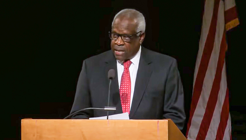 Clarence Thomas: The Supreme Court Could Be the 'Most Dangerous' Branch of Government