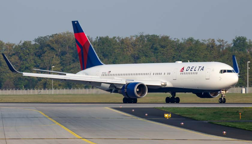 Georgia-Based Delta Airlines Reportedly Giving Passengers' Personal Information to the Chinese Government