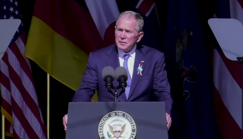 Bush's 9/11 Remarks on Domestic Extremism 'Not Exclusive to January 6' Riot, Spokesperson Says