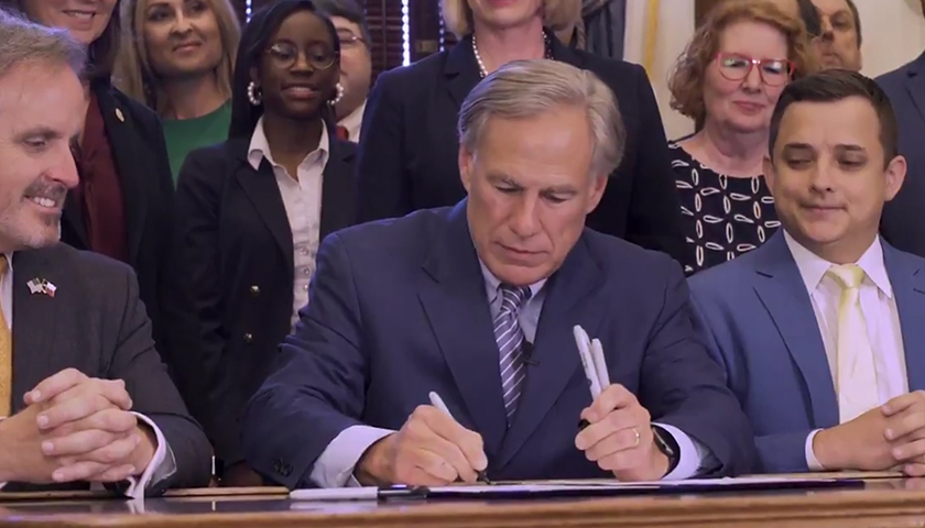 Texas Governor Signs Law Preventing Social Media Companies from Banning People for Their Views