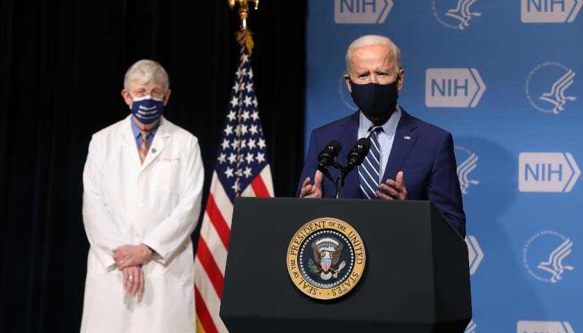 Confidence That Biden is Presenting a Clear Plan for COVID-19 Tumbles, Poll Shows