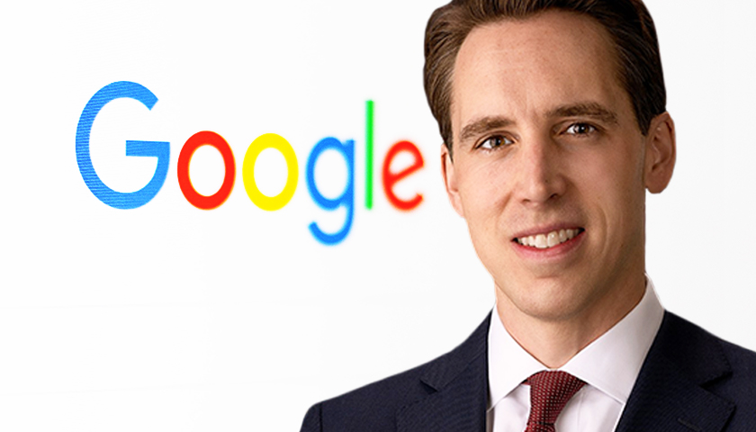 Sen. Josh Hawley Accuses Google of 'Targeting Pregnancy Resources,' Pro-Life Orgs 'for Disfavor'