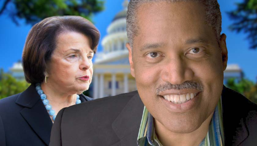 Larry Elder Says He'll Replace Senator Feinstein with Republican if He Wins California Recall Election