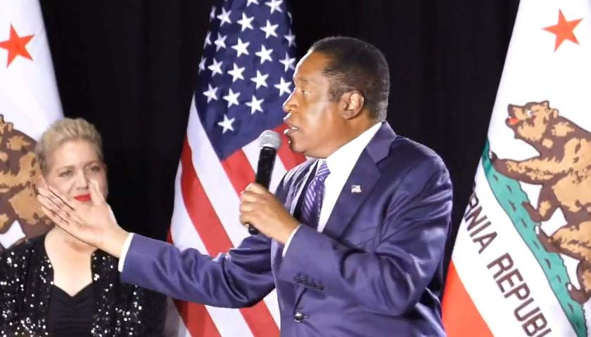 Larry Elder Tells Supporters to 'Stay Tuned' During Concession Speech