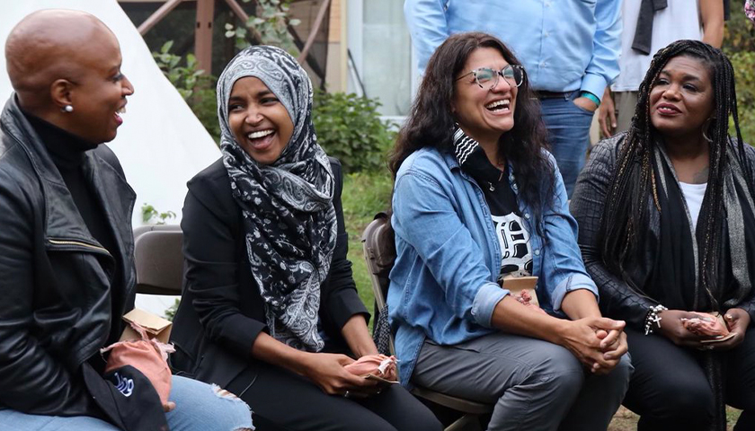 The 'Squad' Visits Bemidji to Protest Line 3 in Minnesota
