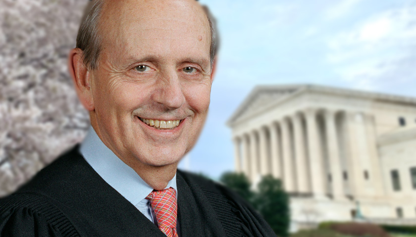Justice Breyer to Those Pushing Court Packing: 'What Goes Around Comes Around'