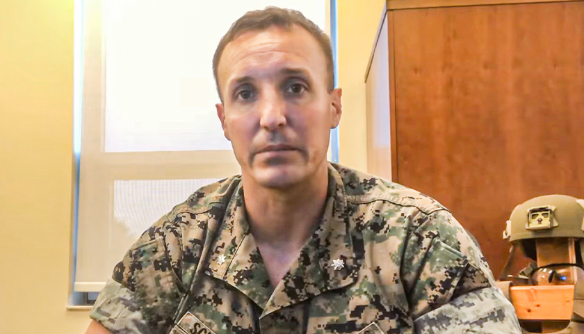 Marine Officer Who Demanded Accountability for Afghanistan Debacle Jailed Awaiting Military Trial