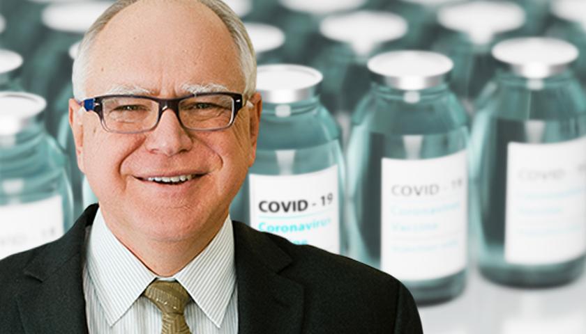 Minnesota Governor Walz Calls Biden Vaccine Mandate 'The Right Move'